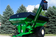 Pivoting Corner-Auger Grain Carts